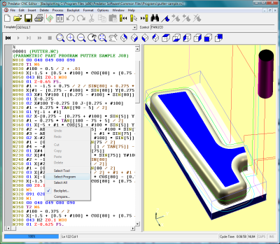 Predator CNC Editor Software Overview