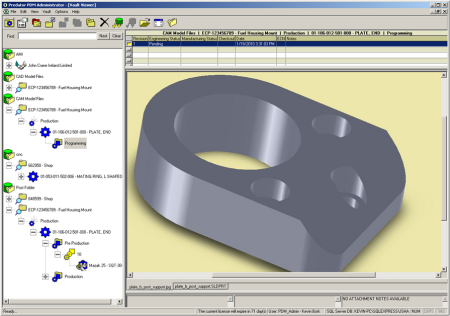 Pdm Software Production Data Management Software Cnc