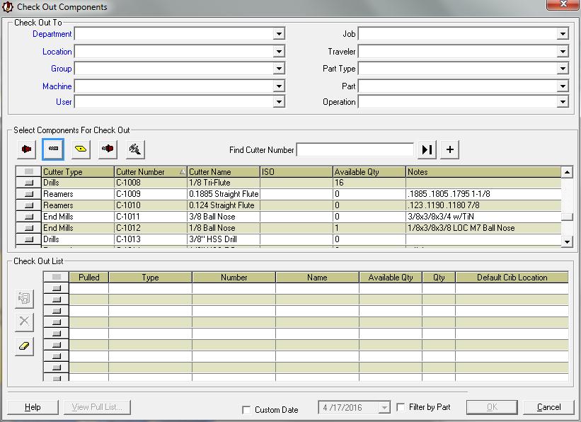 Tool Crib Software Tool Crib Tracking Gage Calibration Software